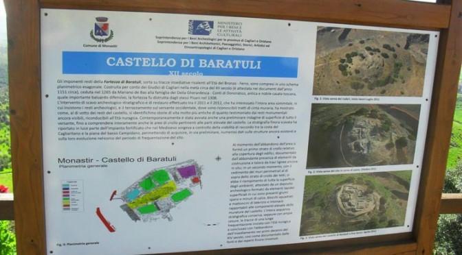 Visita guidata al Castello di Baratuli a Monastir – 4 gennaio 2014