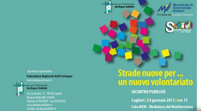 Amici di Sardegna ONLUS aderisce alla Federazione del MOVI Sardegna