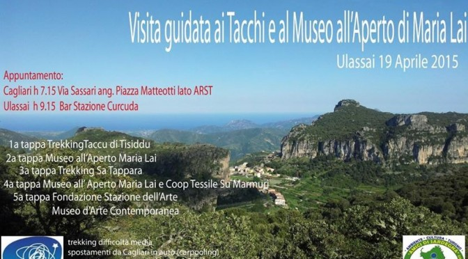 Visita guidata ai Tacchi d'Ogliastra e al Museo Maria Lai!