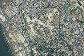 Tuvixeddu Foto aerea